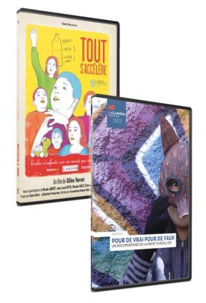 """Pack DVD """"Tout s'accélère"""" / """"Pour de vrai pour de faux"""""""