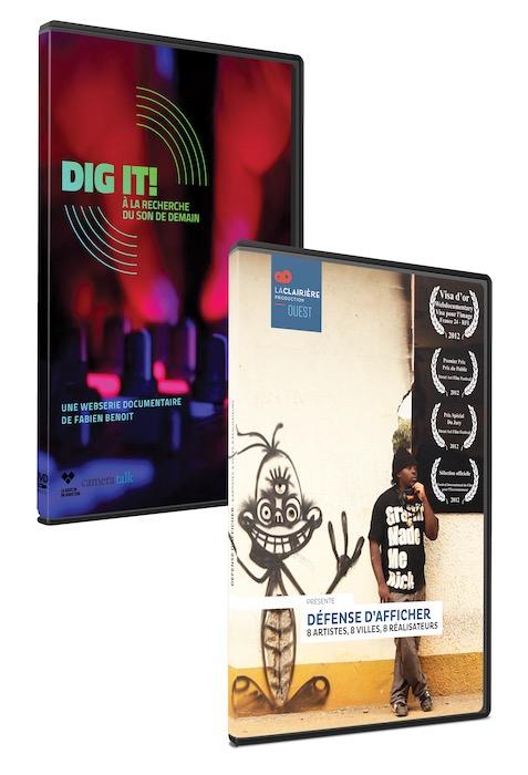 Pack DVD Dig It / Défense d'afficher